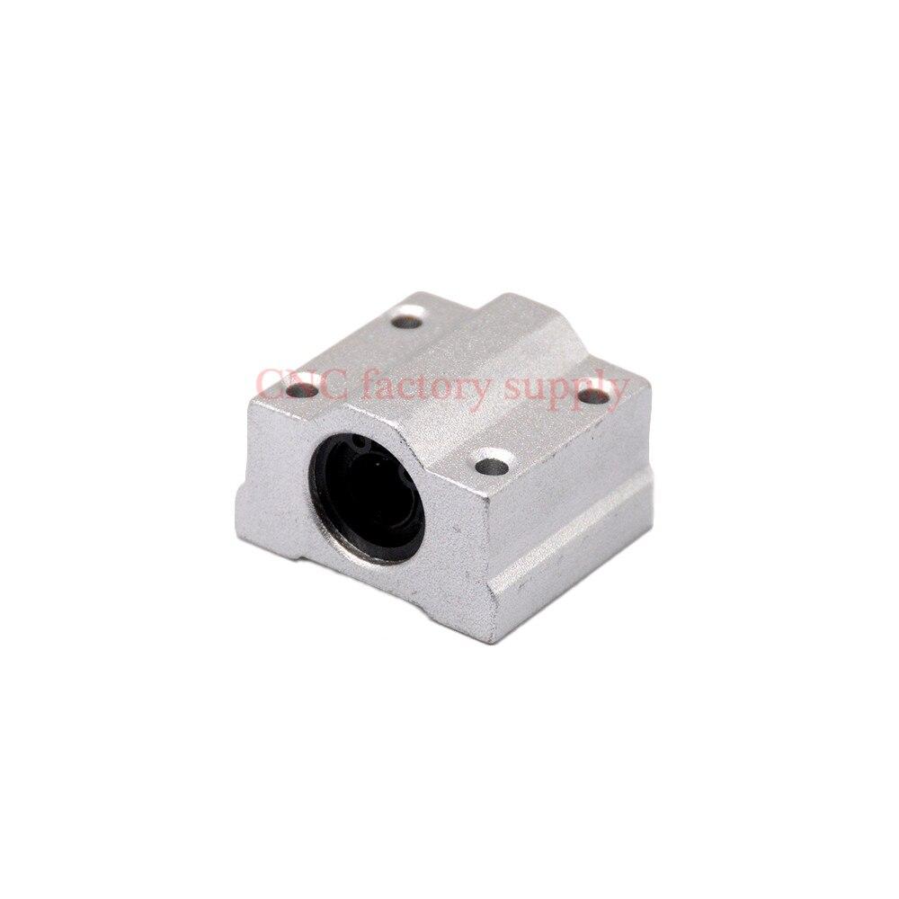8 قطعة/الوحدة شحن مجاني SC16UU SCS16UU 16mm الخطي كروي بلوك CNC راوتر