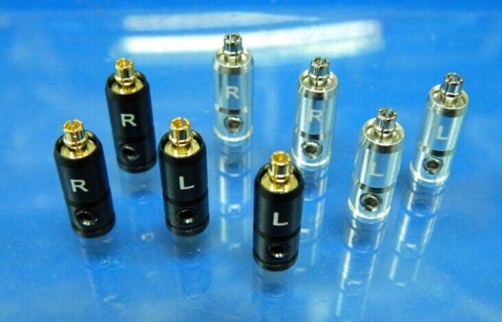 2 قطعة جديد نمط سماعة DIY مخصص إصلاح دبوس ل Westone W60 W50 W40 W30 W20 W10 كابل