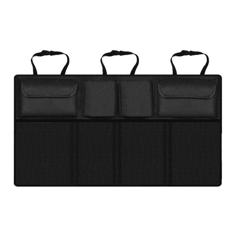 Assento líquido ajustável multi-uso tronco banco de trás alto automóvel universal saco de armazenamento capacidade organizador do carro oxford organizadores