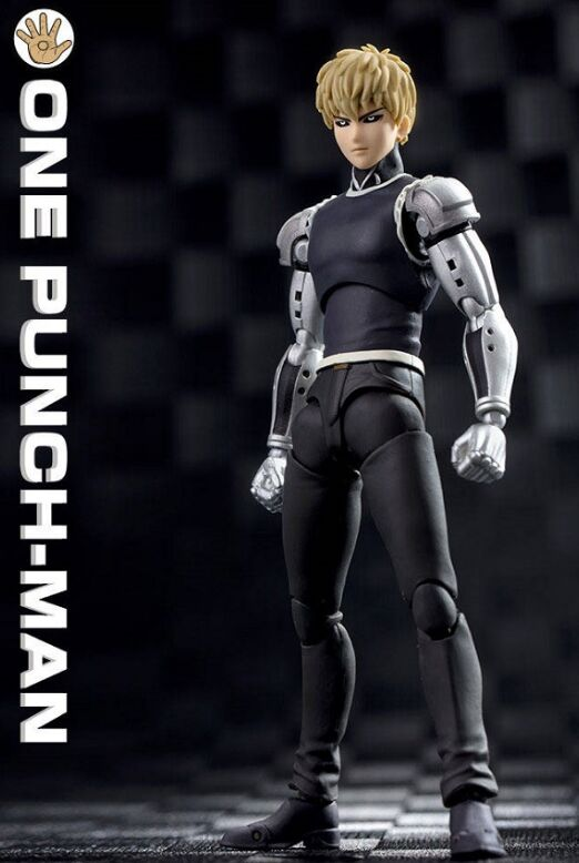 Grandes juguetes Dasin anime ONE PUNCH MAN Genos figura de acción GT modelo de juguete 1/12