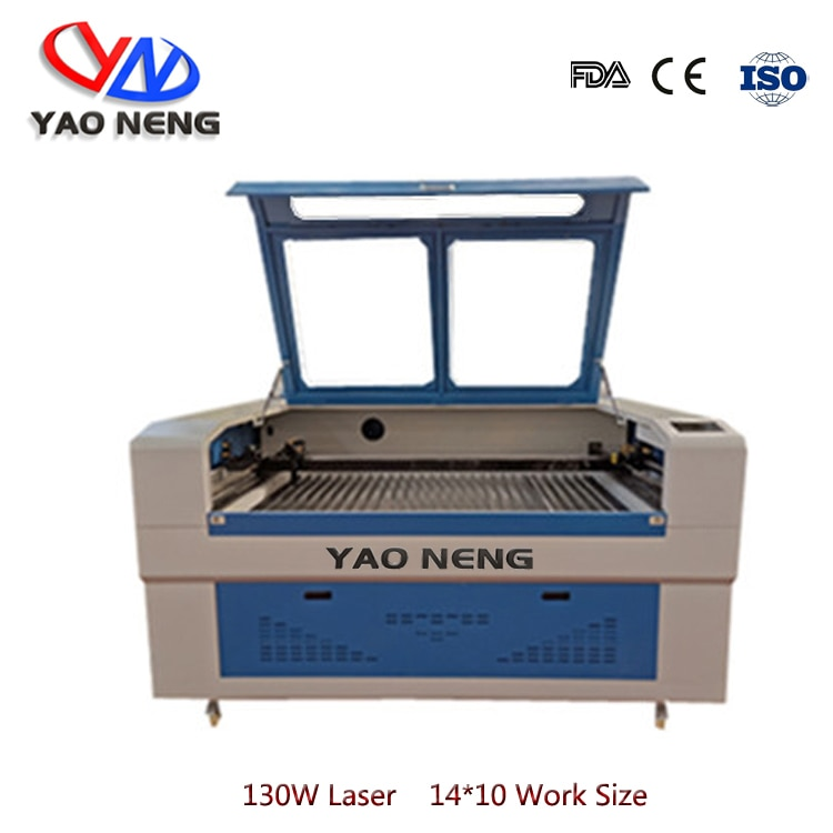 130 Вт Co2 стеклянная лазерная трубка CW5000 чиллер 1410 Co2 лазерная гравировальная машина 220В/100В лазерный резак ЧПУ DIY гравер