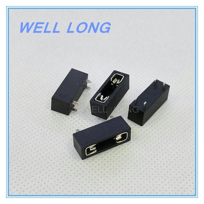5 unids/lote PCB Panel de montaje seguro bloques terminales de seguridad Micro Mini medio pequeño Universal portafusibles de coche.