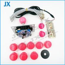 DIY arcade Kit Null Verzögerung Arcade Spiel USB Encoder PC Joystick für MAME & Raspberry Pi 3B