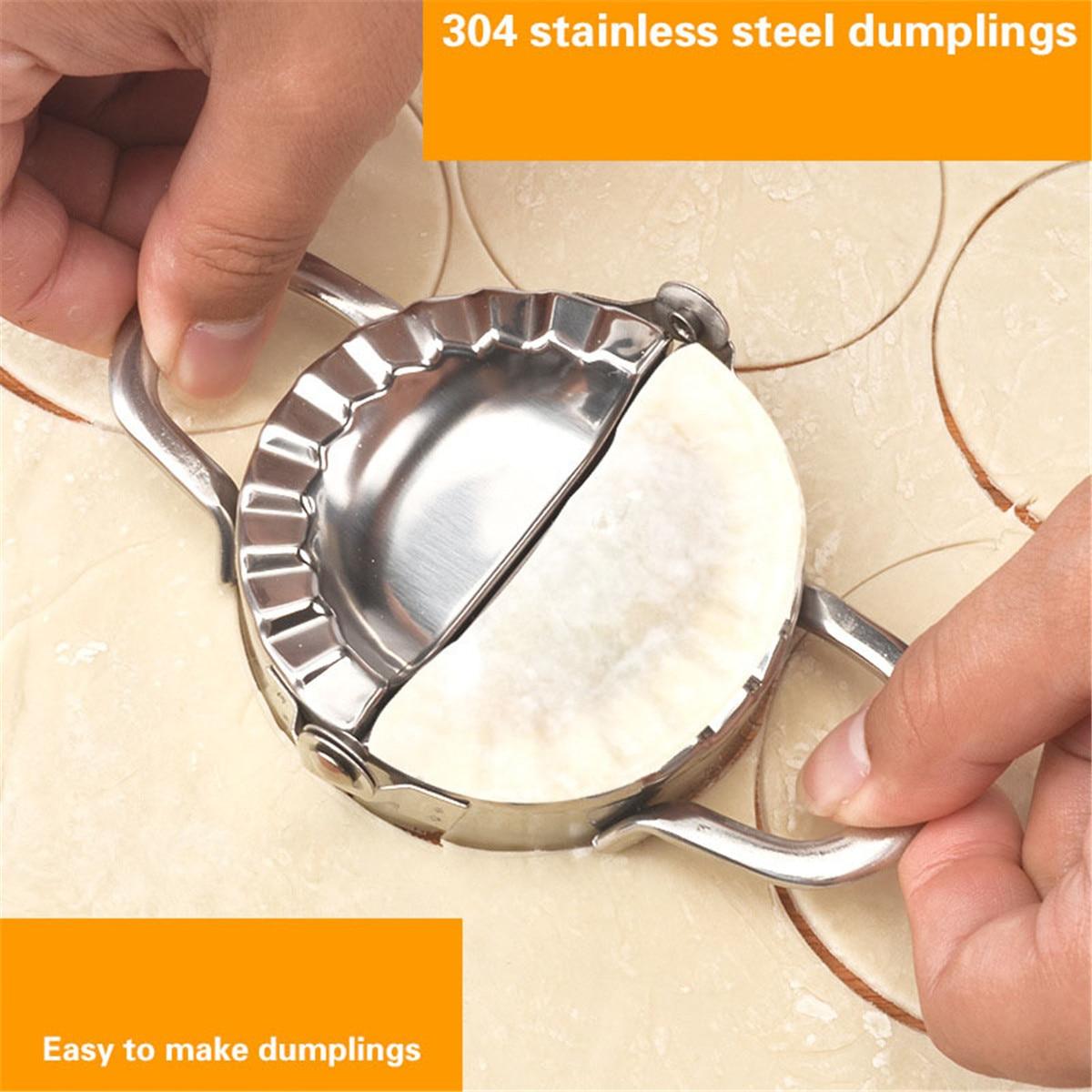 Dispositivo de fabricante de Dumpling Jiaozi, máquina para hacer moldes, utensilios de cocina DIY