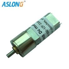 ASLONG JGA16-050 Low Speed Motor 9-360rpm 6V Electric Motor 3V High Torque DC Motor Reductor Wholesales