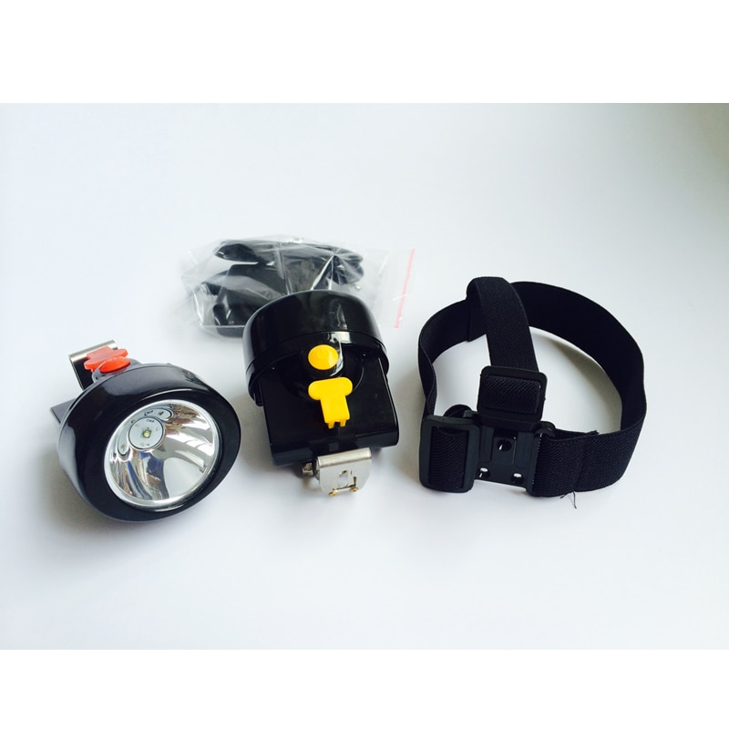 30 PCS/LOT  KL2.8LM(A) Supper Bright 3W LED Mining Lamp Miner Cap Light Camping Headlamp Free Shipping