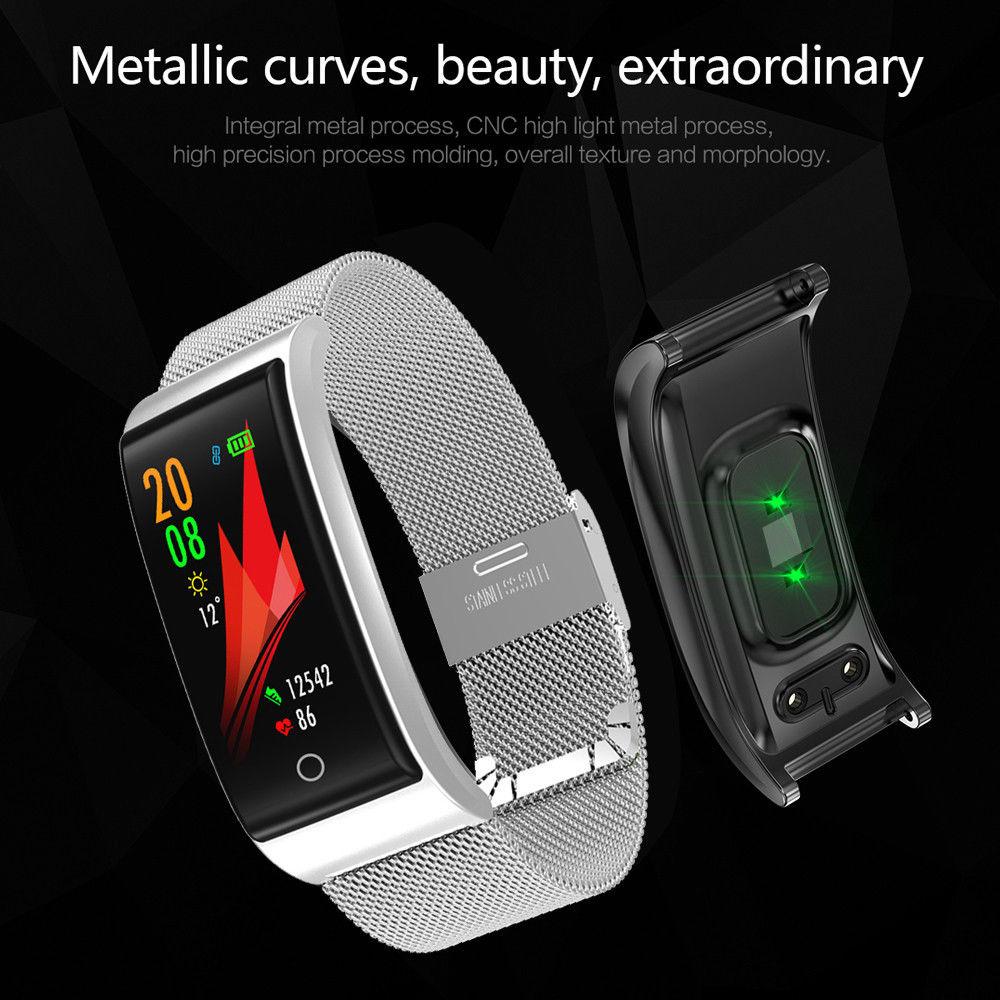 Reloj inteligente Timethinker F4 pulsera de rastreador de Fitness pulsera de reloj de pulsera de presión arterial Monitor de ritmo cardíaco PK X3 S3