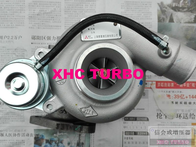 Nuevo genuino TF035 49135-07520 DK4A-1118010 turbo turbocompresor para Zhengzhou NISSAN Ruiqi XINCHEN ZD25TCi 2.5L 75KW 85KW