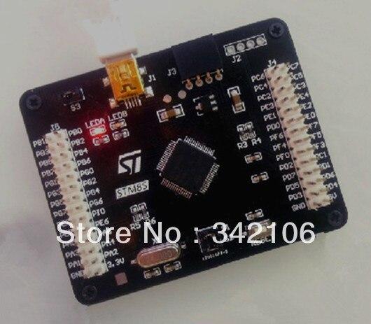 ¡Envío gratis! Tablero de sistema mínimo STM8S STM8 tablero de evaluación de microcontrolador de aprendizaje