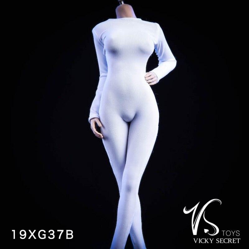 Vstoys 1/6 escala vestuário de uma peça para coleções de figuras de ação de 12 polegadas