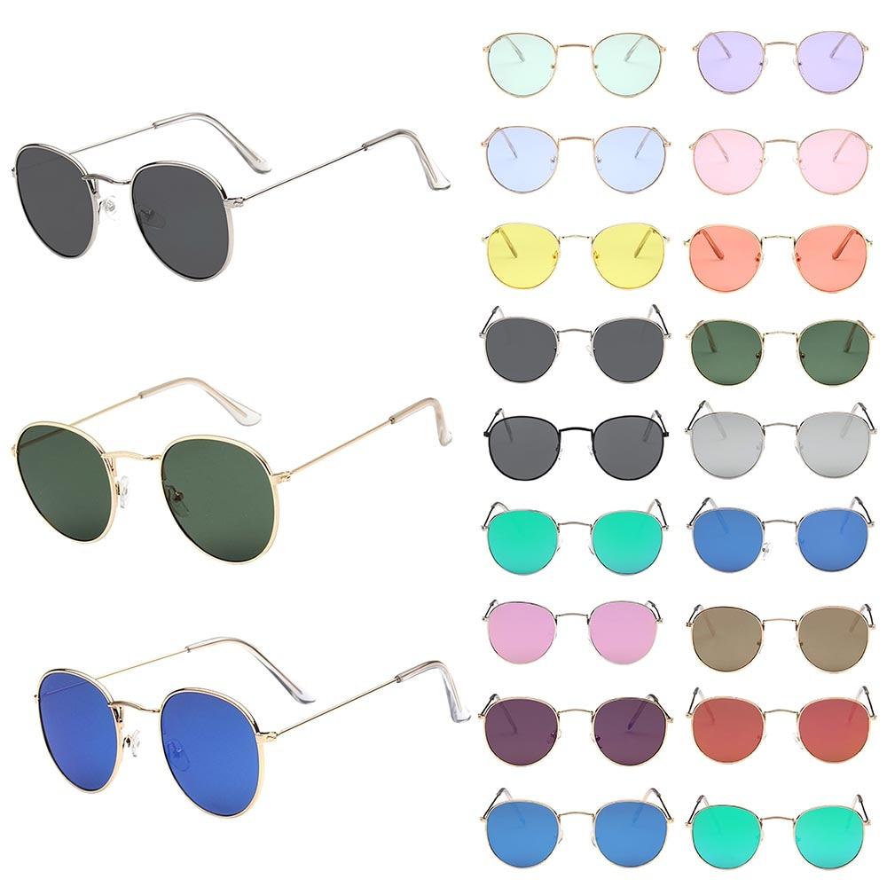 NEWEST 100% Polarizd Sunglasses Women/Men Brand Designer Round Glasses Lady Mirror Sun Glasses Drive