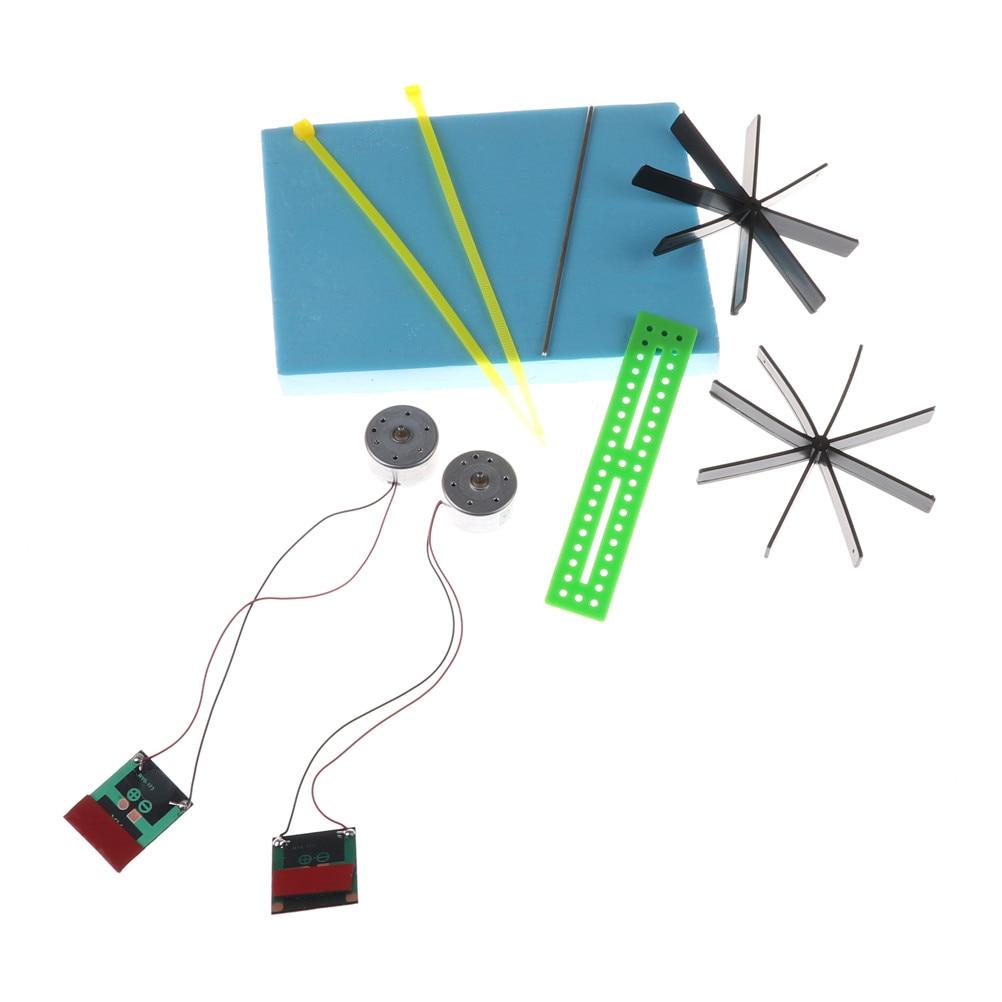 Обучающая головоломка DIY на солнечных батареях Лодка гребная Сборка игрушки для детей игрушки 15*13*8 см модель робота