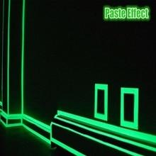 1 Meter Luminous Tape Waterproof Self-adhesive Glow In The Dark Warning Stickers DIY Safety Stage Luminous Tape