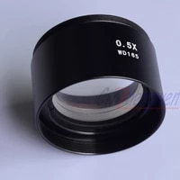 fyscope szm0 5x auxiliary objective lens for stereo zoom microscope 0 5x barlow lens