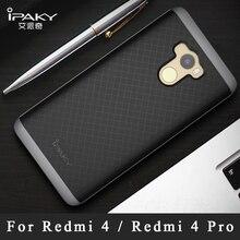 Xiaomi redmi 4 Pro étui iPaky housse pour Xiaomi Redmi 4X étui Silicone armure couverture arrière + cadre PC pour Xiaomi Redmi 4 X couverture 5.0