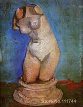 Arte moderna pittura su tela di canapa Gesso Statuetta di un Torso Femminile dipinto a mano dipinto di Vincent Van Gogh opere di Alta qualità
