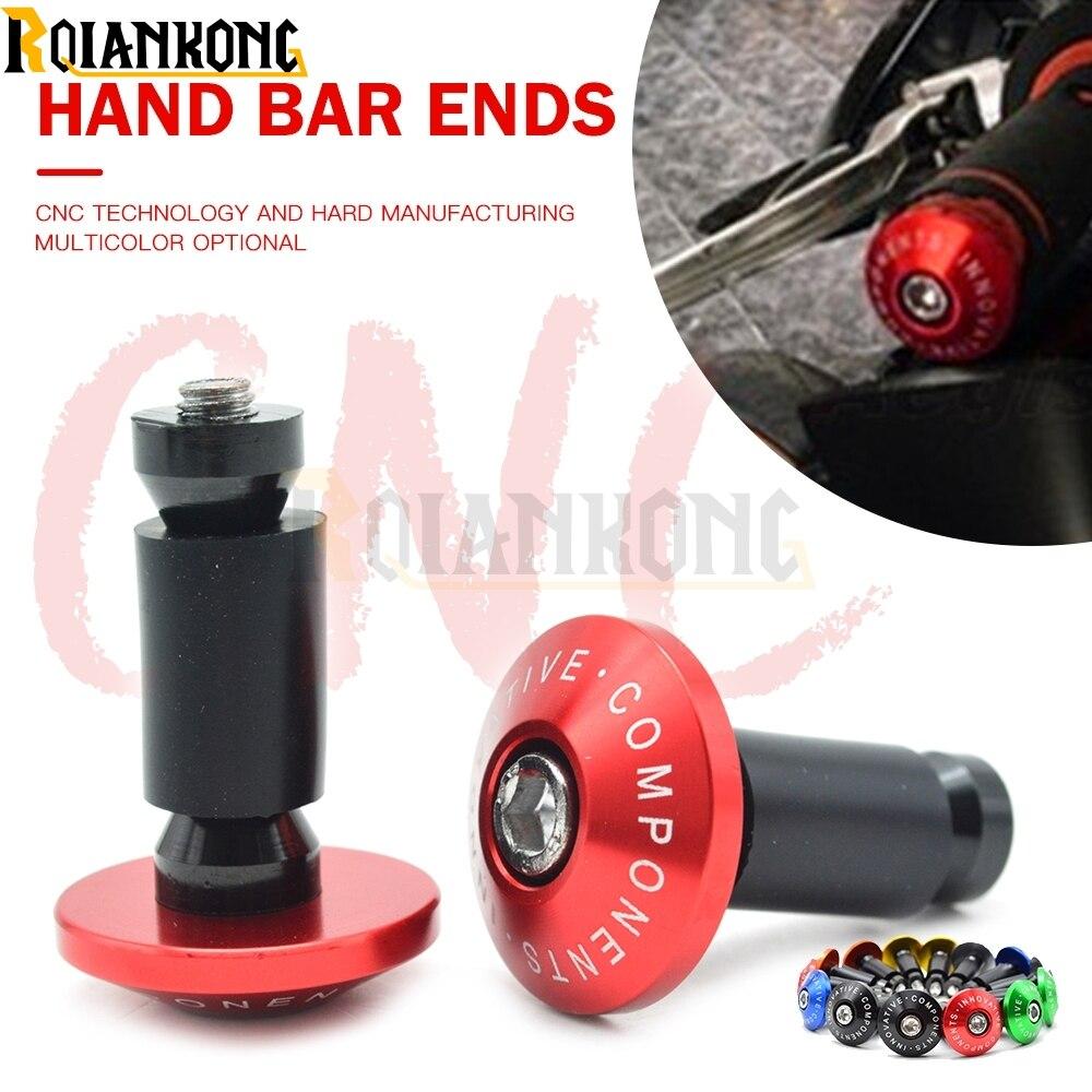 Для Ducati Diavel/Carbon/XDiavel/S GT 1000 GT1000 наконечники для ручных стержней 22 мм ручки для Руля Мотоцикла концы для наконечников