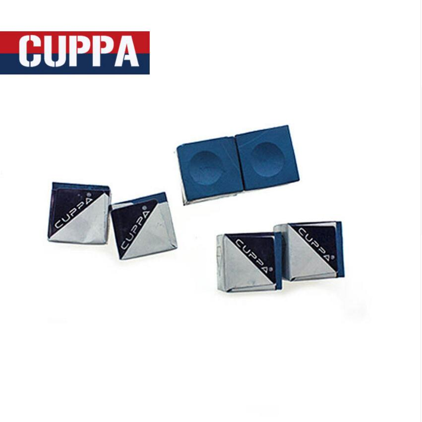 New Arrival Cuppa 12 Pcs/lot Oily Billiard Chalk Blue Billiard Accessories Professional High Quality Handmade Cue Chalks