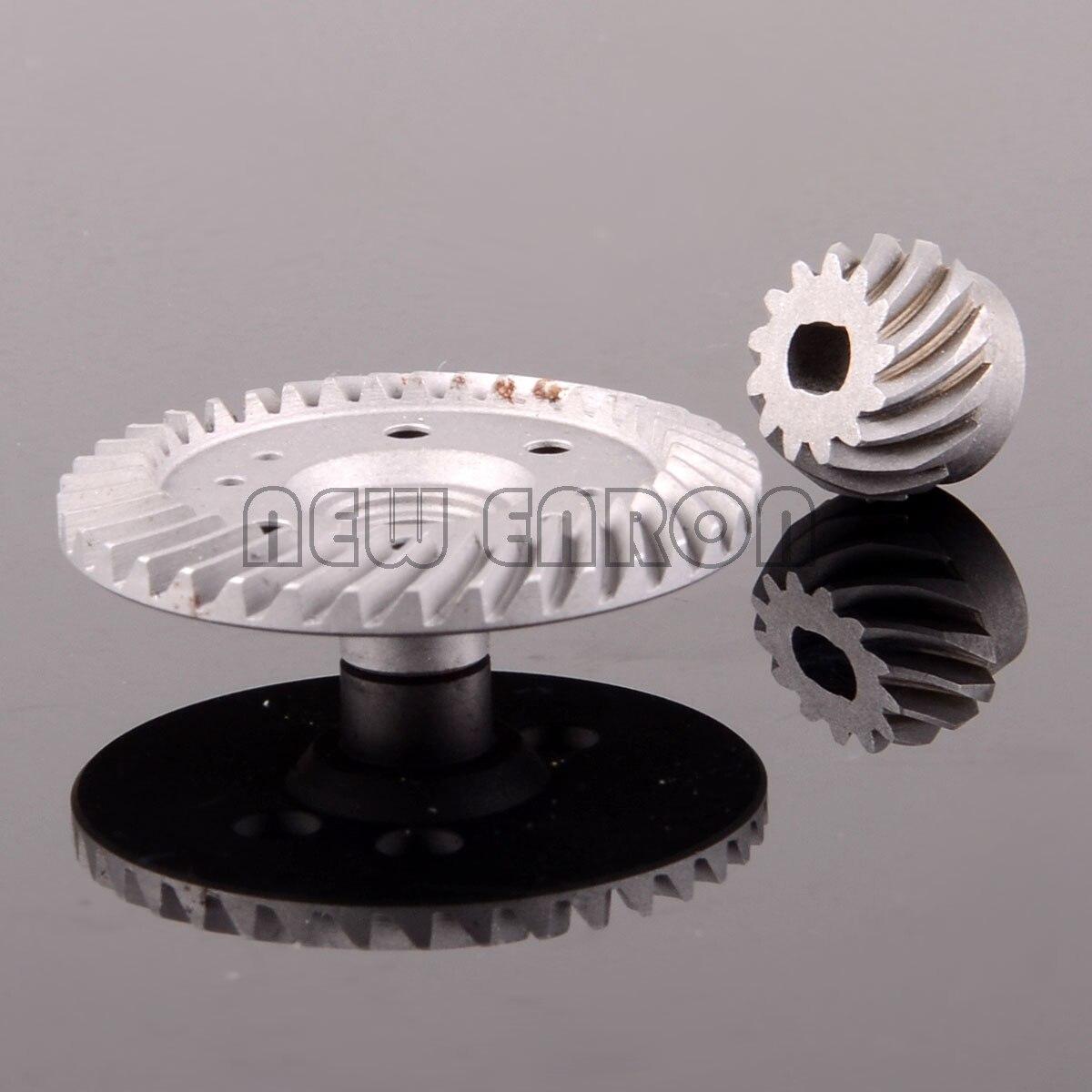 Nuevo ENRON, 2 uds., anillo diferencial de acero duro 37T/13T/engranaje de piñón #6879 para RC Traxxas 1/10 Slash 4x4, sello 4X4 Rustler XO-1