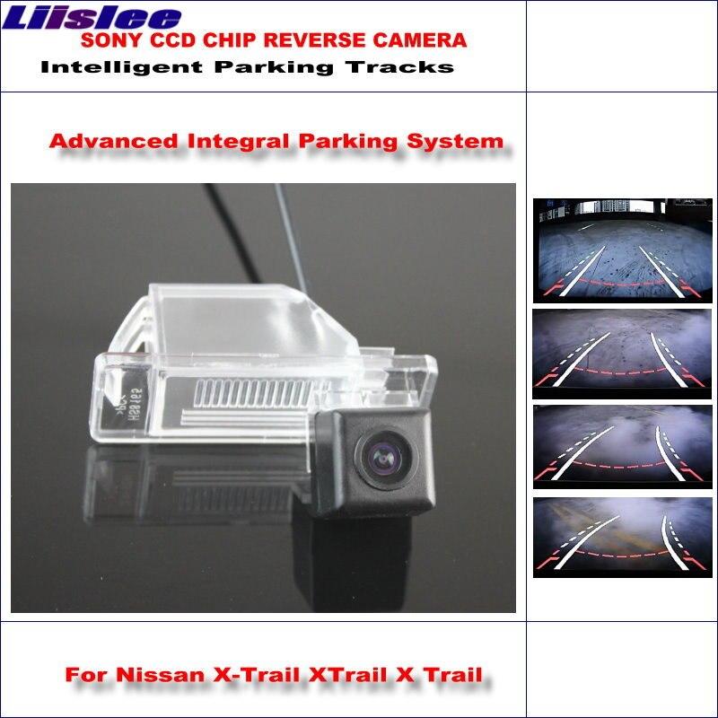 Liislee высокое качество 3089 чип интеллектуальная задняя камера для Nissan X-Trail XTrail X Trail/NTSC PAL RCA AUX HD SONY CCD