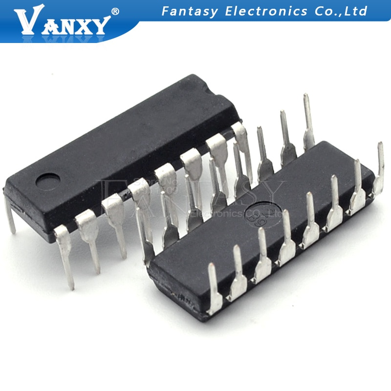 5pcs SN74HC147N DIP-16 CD74HC147E DIP CD74HC147 74HC147E 74HC147 DIP16 Logic Encoder