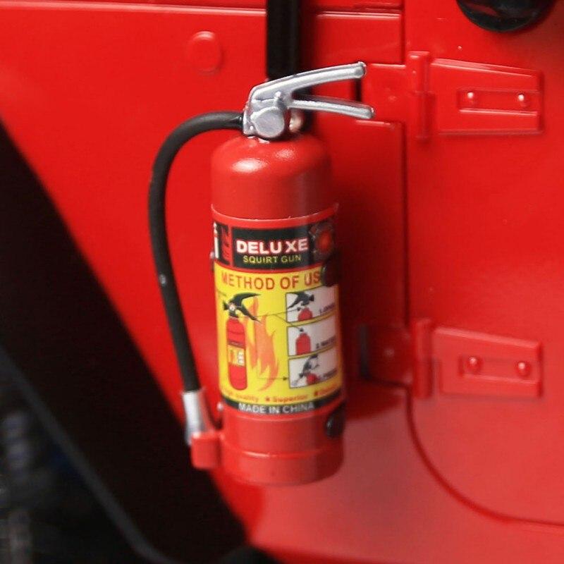 1/10 RC chenille accessoire pièces extincteur modèle pour Axial SCX10 TRX4 autocollants voiture modèle accessoires bébé enfants pour jouets