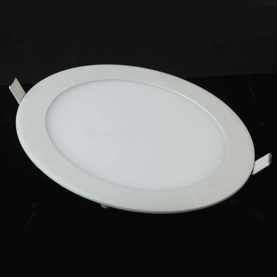 Ultrathin LED panel light  6W  LED Downlight / Round Panel Light Free Shipping