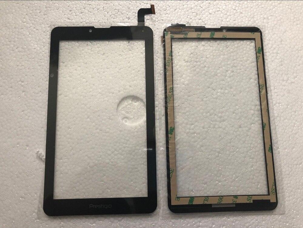 "7 ""Nueva Tablet pc con pantalla táctil para Prestigio zabio 3427 3G PMT3427_3G_C pmt3427c pmt3427 pmt 34 Panel táctil digitalizador de vidrio de Sensor"