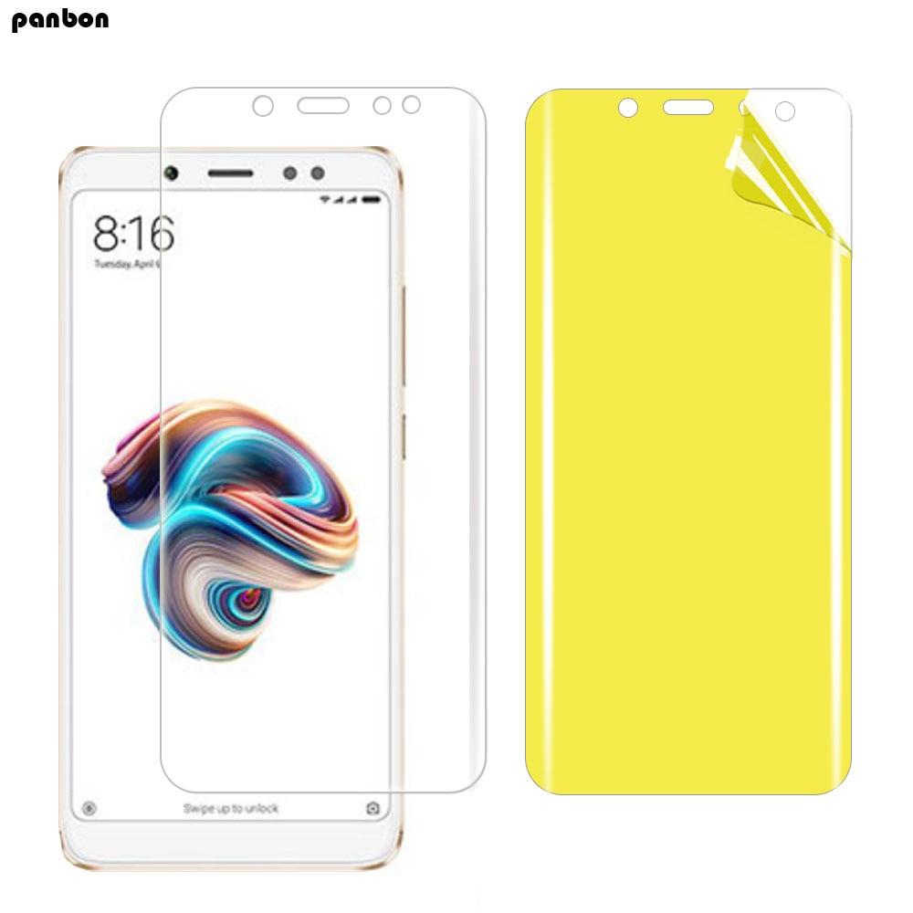 3D screen protector for xiaomi Redmi note 7 6 5 Pro 5A Prime y1 lite hydrogel film Screen guard gel protective film