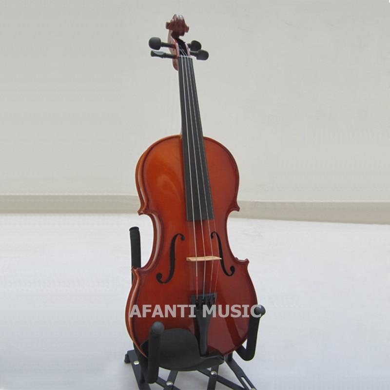 Diapasón de ébano 1/10 violín/Afanti Music 1/10 violín (AVL-138)