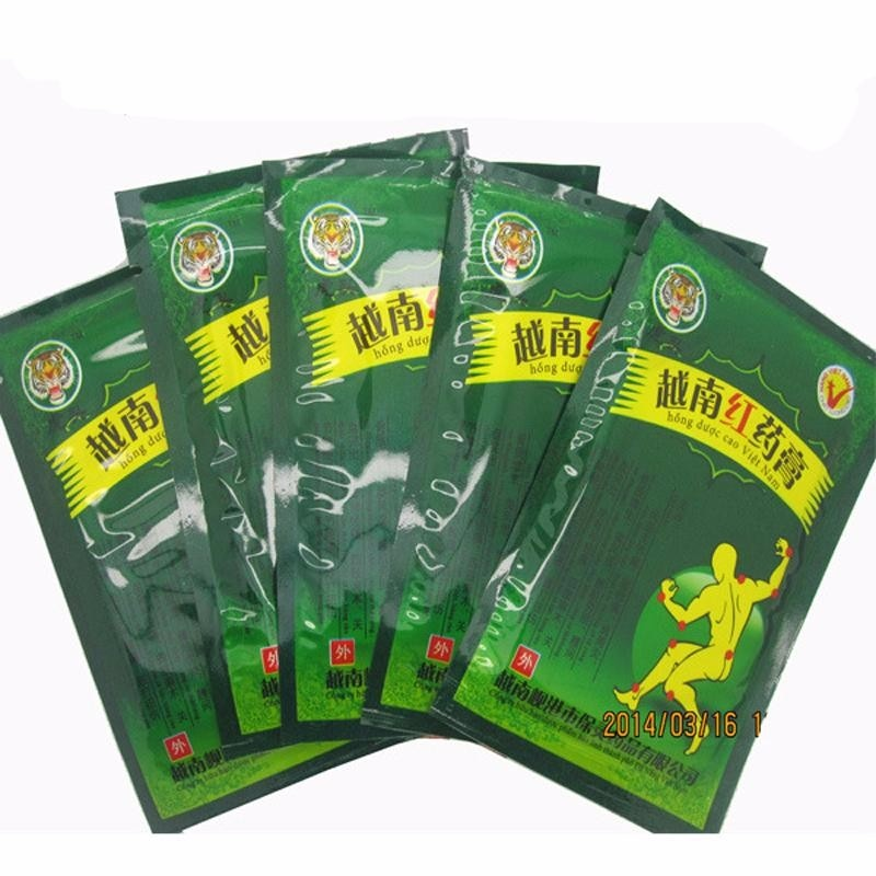 104pcs/13 Bags Vietnam Red Tiger Balm Plaster Pain Stiff Shoulders Muscular Pain Relieving Patch Relief Health Care Product 48pcs 6bags far ir treatment tiger balm plaster muscular pain stiff shoulder patch relief spondylosis health care product d1642