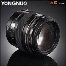 2016 NEW Yongnuo YN100mm F2 Medium Telephoto Prime Lens for Canon EOS Rebel Camera AF MF 5D 5D IV 1300D T6 760D 750D 1D 5DS R