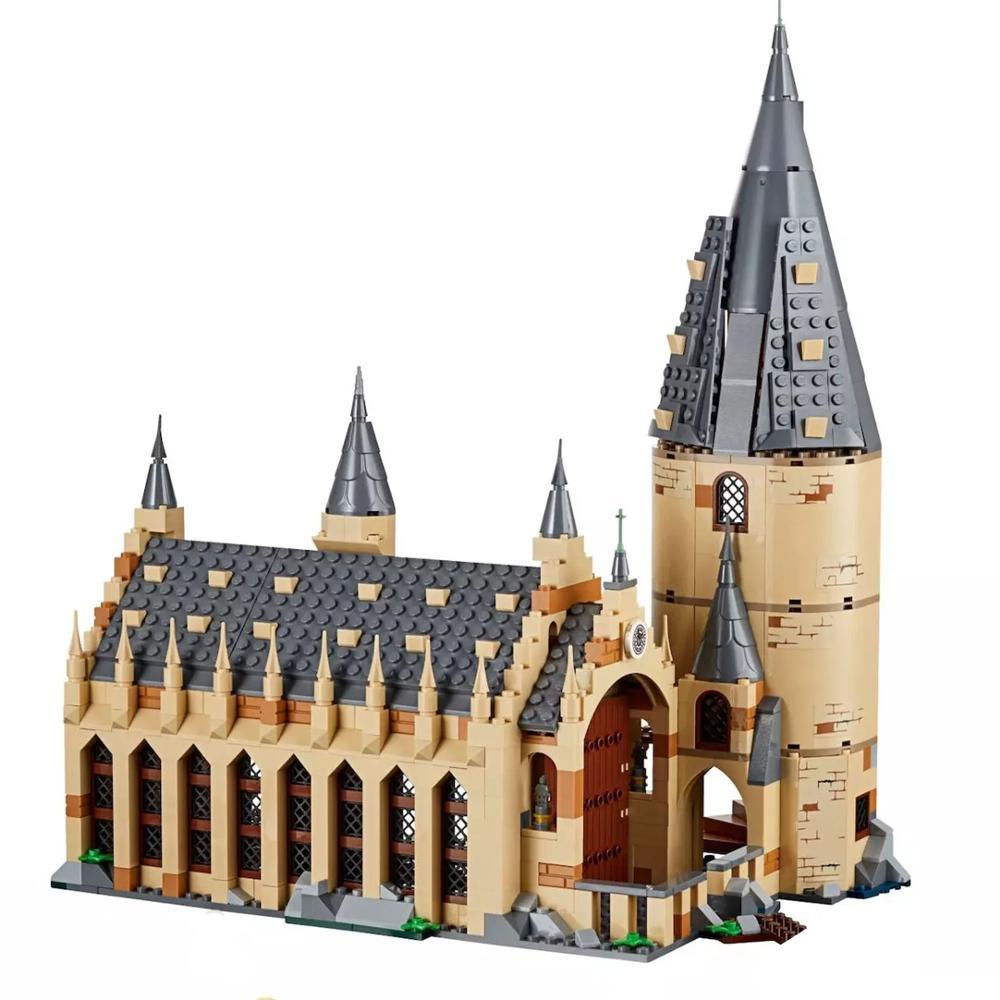 2018 nuevo juego de la gran pared Ron Hermione Voldemort modelo bloques de construcción casa niños juguetes para regalos de navidad
