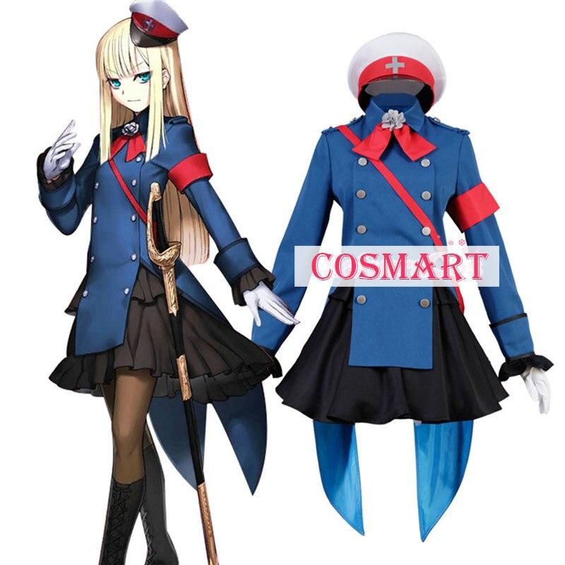 Anime destino/gran orden FGO Sima Yi Rains Cosplay traje uniforme traje de Halloween para las mujeres envío gratis