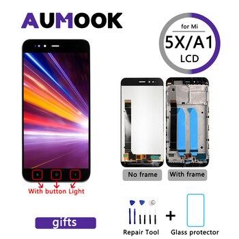5,5 дюймов AAA Pantalla для Xiaomi Mi A1 ЖК-дисплей сенсорный экран ЖК + рамка Замена для дигитайзера экран для Redmi A1 5x