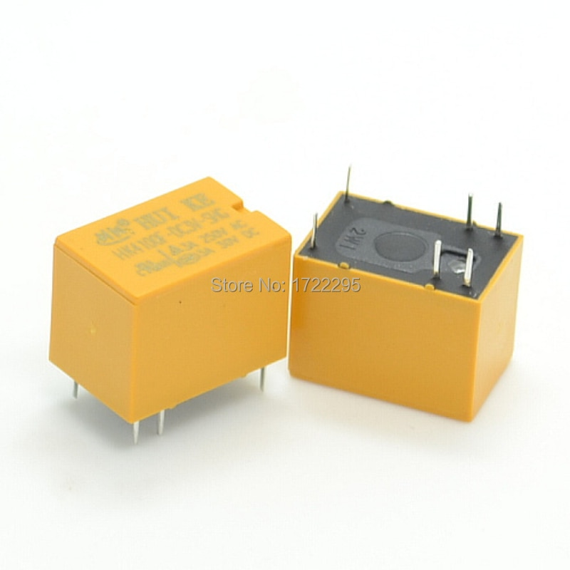 Envío gratis 1 Uds HK4100f-DC3V-SHG HK4100F-DC3V HK4100F 3 V DIP6 6PIN 3A 250VAC/3A 30VDC pequeño relé de señal