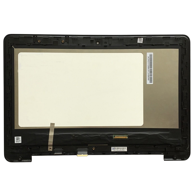 Para Asus libro de transformador Flip TP200 TP200S TP200SA táctil LCD de pantalla lcd con marco bisel LCD Asamblea