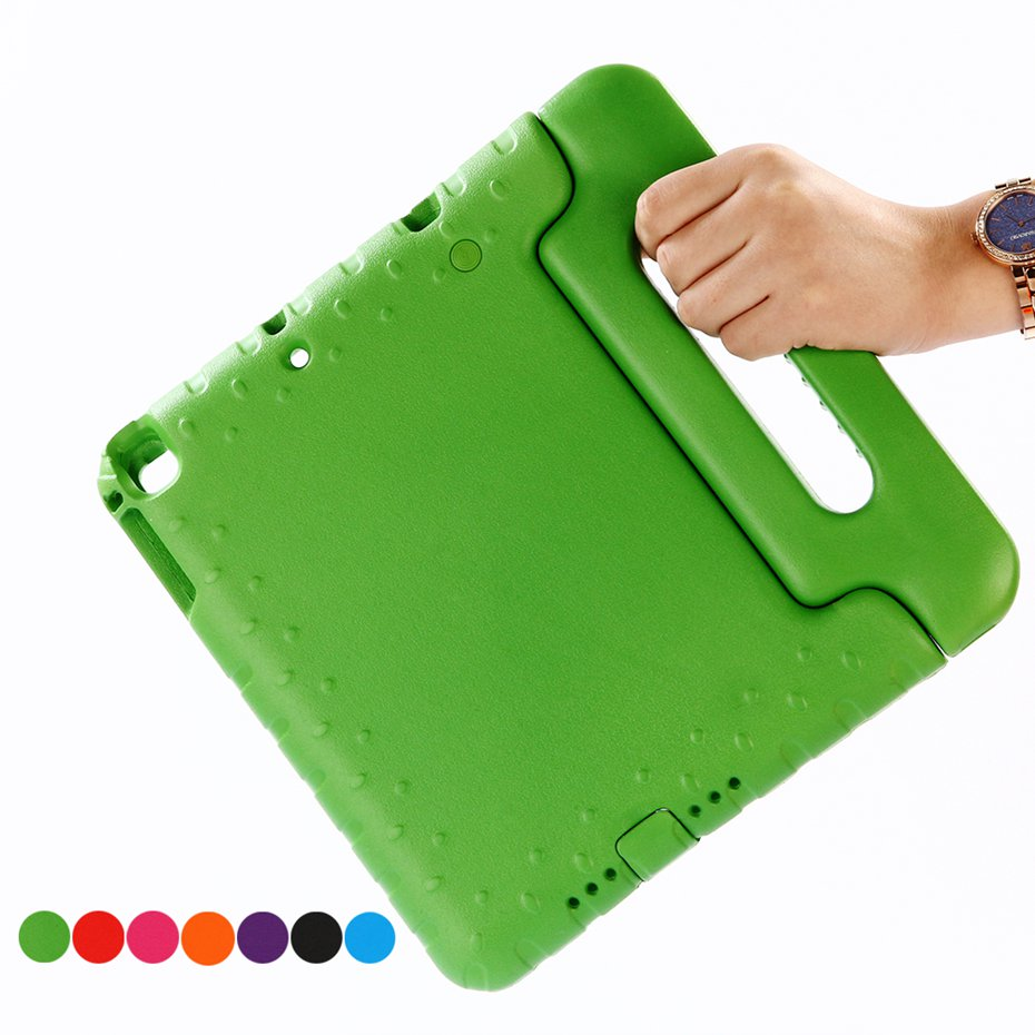 Чехол для ipad air / air 2 9,7 дюймов ручной ударопрочный EVA чехол для всего тела чехол с ручкой и подставкой для детей для iPad 2017 2018 чехол