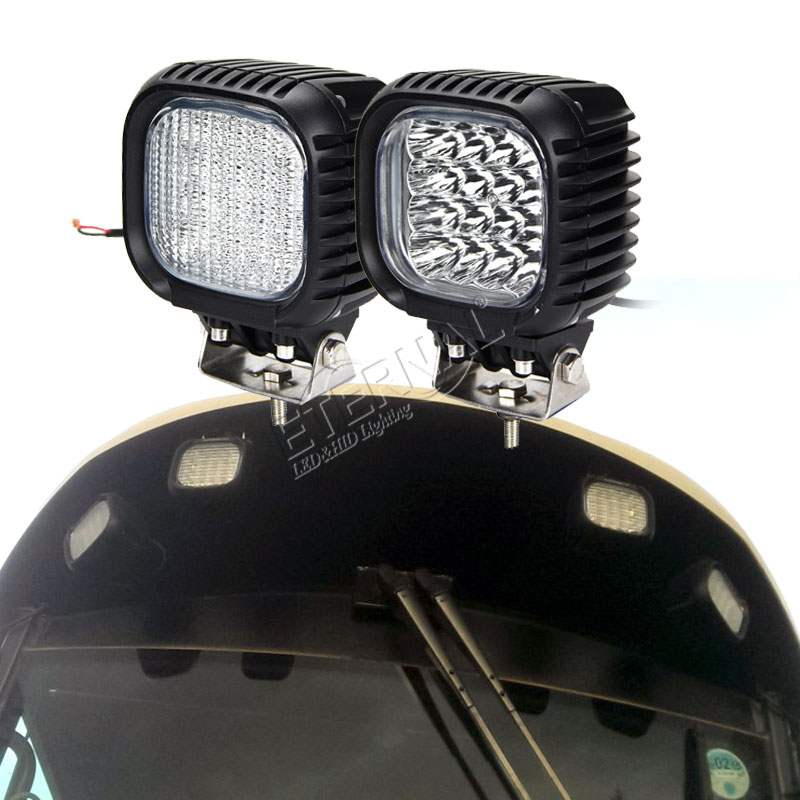 12pc 48W led work light headlights on tractor light For trucks trailer car renault 4x4 accessories Niva lada 4x4 tuning enlarge