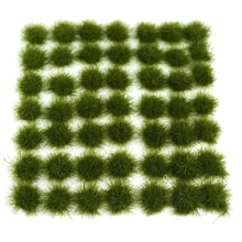 147 adet çim küme statik çim Tufts 135 148 1 72 1 87 kum masa mimari modeli modeli yapı kitleri-koyu yeşil