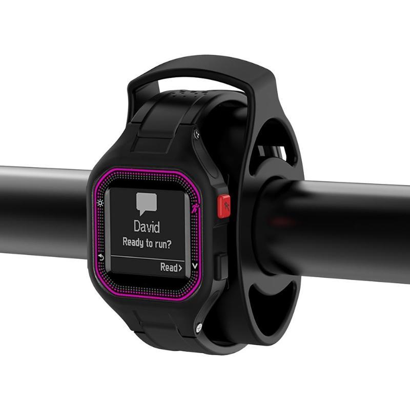ALLOYSEEED Smartwatch support de montage de vélo support pour Garmin Forerunner 60 50 110 210 305 610 910XT 310XT montre intelligente
