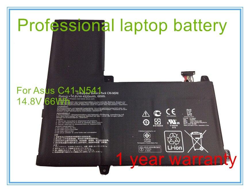 Original batería del ordenador portátil para Q501L Q501LA Q501LA-BBI5T03 C41-N541 N54PNC3 14,8 V 66WH envío gratis