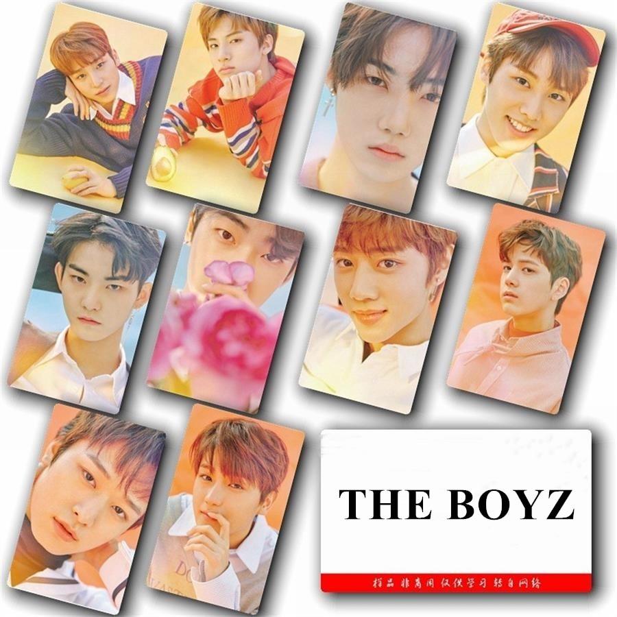 KPOP el Boyz pegajoso foto Tarjeta de moda pegatinas para fotografiar cartel 10 unids/set