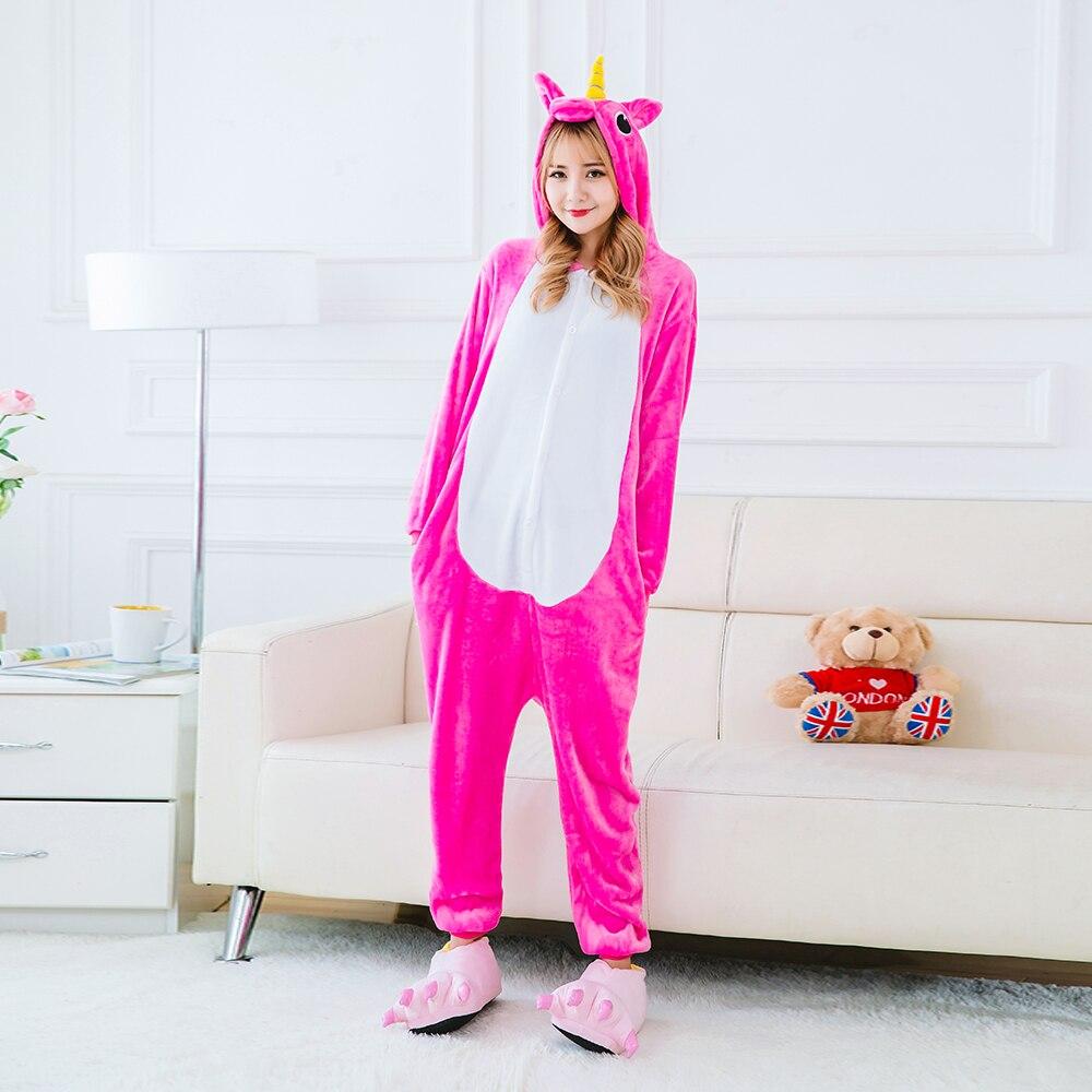 Pijamas de unicornio para adultos, disfraz de Halloween para mujer, conjuntos de...