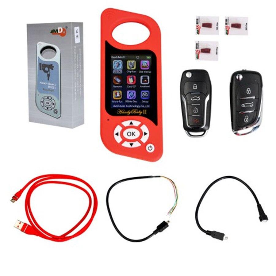 Handy Baby 2 II programador de llaves JMD, programador de llave de coche portátil, programador de copia de la clave para Chips 4D/46/48