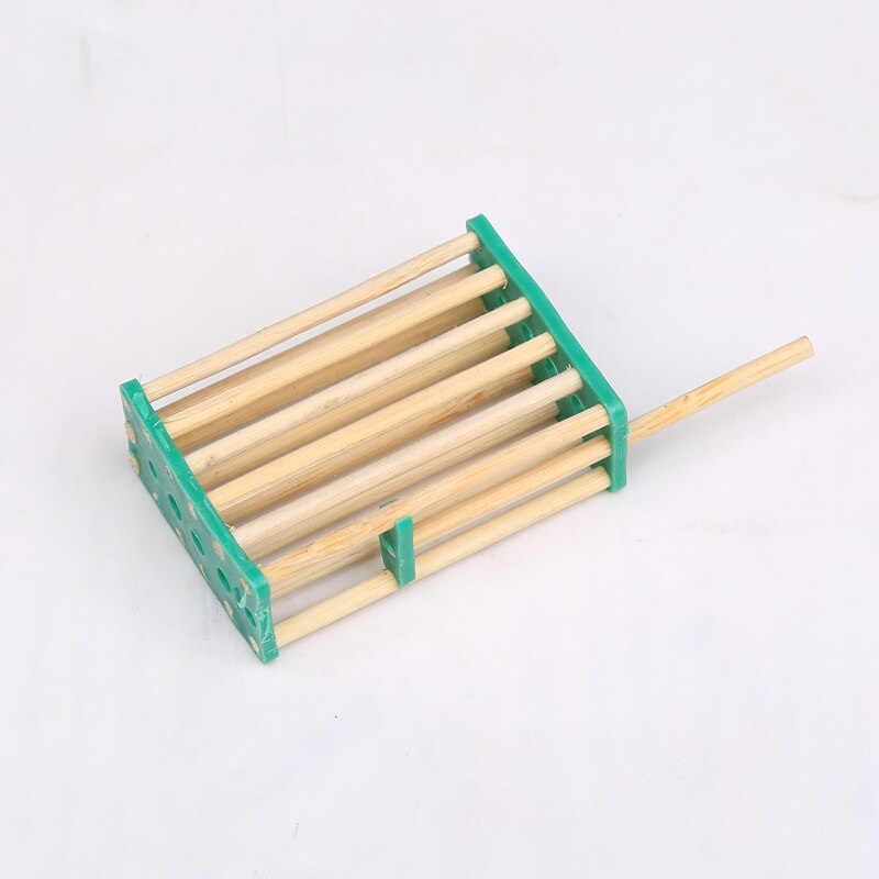 Jaula de bambú de 100 Uds en la jaula de La Reina jaula de la prisión Wang king queen bees