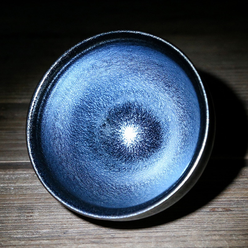 Jianzhan-كوب شاي عتيق ، Tenmoku ، Chawan ، عالمي ، سيراميك ، صناعة يدوية ، صينية تقليدية ، قيمة