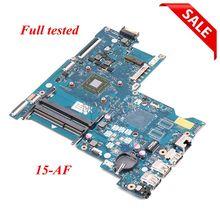 NOKOTION 813967-501 818060-601 carte mère dordinateur portable pour HP 15-AF ABL51 LA-C781P CPU carte principale complet fonctionne