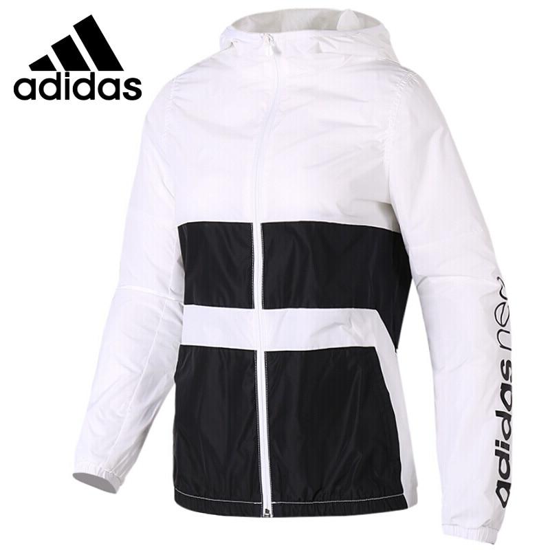 Original New Arrival Adidas Neo Label W WB CLR BLCK Women's  jacket Hooded Sportswear