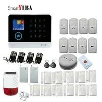SmartYIBA systeme dalarme de securite   Sans fil  wifi GSM  systeme de securite  ISO Android APP  systeme dalarme de securite  detecteur de fumee sans fil